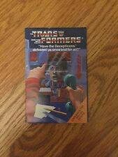 TRANSFORMERS G1 1984 S.T.A.R.S. Autobot & Decepticon Robot Order Form Multi-Fold