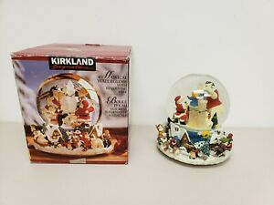 Kirkland Signature Musical Waterglobe With Revolving Base Snow Globe Christmas