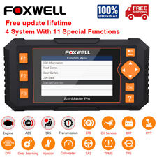 FOXWELL NT634 Automotive Four System OBD2 Diagnostic Scanner+11 Reset Functions