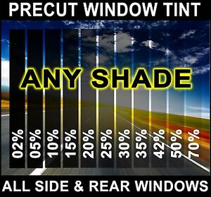 Nano Carbon Window Film Any Tint Shade PreCut All Sides & Rears for Ford F-350