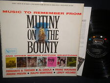 "Music to Remember ""Mutiny on the Bounty"" LP"