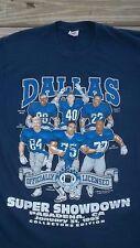 90 s Vintage DALLAS COWBOYS T-Shirt COLLECTORS EDITION NFL Football  Pasadena CA 437e62e6e