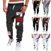 Mens Trousers Sweatpants Harem Pants Slacks Jogger Dance Sportwear Baggy Newly