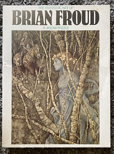 New Rare 1977 The Fantastic Art of Brian Froud Jigsaw Puzzle The Elfin Maid 6155