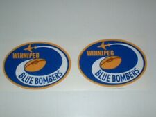 CFL WINNIPEG BLUE BOMBERS FULL SIZE FOOTBALL DECALS