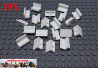 20X Lego® 4865 Paneele Panel Wandelement 1X2X1 Weiß White NEU