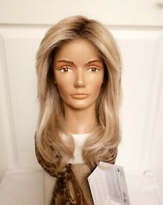 Raquel Welch Spotlight HD HF Synthetic Wig RL19/23SS Shaded Biscuit Lace Mono