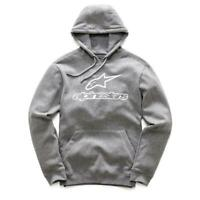 ALPINESTARS | MENS ALWAYS PULLOVER HOOD (HEATHER GREY)