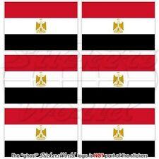 ÄGYPTEN Flagge ÄGYPTISCHE Fahne EGYPT Handy Mini-Aufkleber Vinyl Sticker 40mm x6