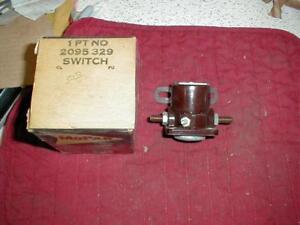 NOS MOPAR 1960-1 VALIANT LANCER STARTER SOLENOID SWITCH W/ MANUAL TRANSMISSION