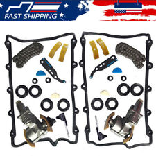 Full Left & Right Timing Chain Tensioner Camshaft Kit For VW Touareg/ Audi A6 A8