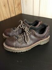 Dr. Martens Men Size 12 US Lace Up Leather Casual Work Shoes Brown Oxford 8312