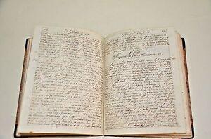1771 Manuscript BOOK 350 pages Metaphysics Impressive Beautiful Interesting WOW