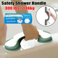 Safety Shower Bath Grip Handle Suction Cup Grab Bar Bathroom Toilet Tub Rail US