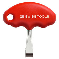 PB Swiss Tools PB 1387 Screwdriver Slotted Stubby with Cross-Handle for Film Ind
