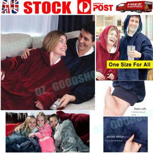 Blanket Hoodie Comfy Ultra Plush Giant Sweatshirt Huggle Warm Fleece With Hooded