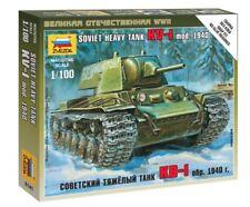 Kv-1 Soviet Heavy Tank Kit 1:100 Zvezda Z6141
