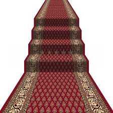 Teppich Läufer Brücke Flur Diele Primus O Rot 67 80 100 120 133 & 150 cm Breite