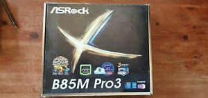 ASRock B85M pro3 socket FCLGA1150