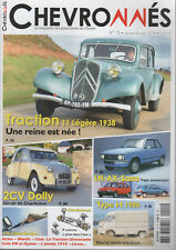 CHEVRONNES 15 CITROEN TRACTION 11 BL 1938 2CV DOLLY 1985 TYPE HY 1980 PIVOT AXE