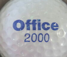 (1) OFFICE 2000 - MICROSOFT LOGO GOLF BALL