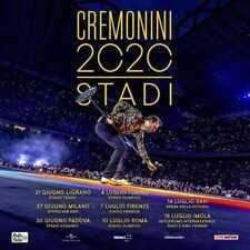 Dettagli su  Biglietti Cesare Cremonini San Siro 27.06.2020 Primo Anello Numerat