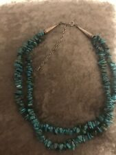 Carolyn Pollack Relios Sterling And Turqoise Necklace