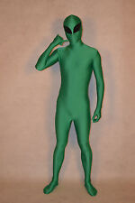 Halloween party lycra zentai costumes superhero Alien size S-XXL