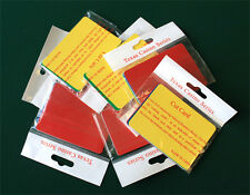 50pcs Poker Size Cut Cards, Fit Copag & Kem Wide Playing Cards 5 different color