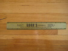 Vintage Good's Shop GOLD RULER Boyertown PA collectible advertising goods store
