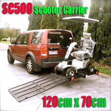 Sc500 Tow Bar Mobility Scooter Power Wheelchair Carrier Rack With Loading Ramp