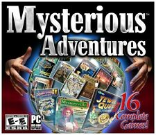 Mysterious Adventures 16 Hidden Object PC Games