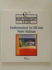 Seidenmalerei im Stil von Henri Matisse