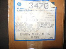 General Electric Motor 1/4 HP ~ No. 3470 ~ Brand New In Box ~