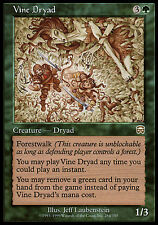 1x Vine Dryad Mercadian Masques MtG Magic Green Rare 1 x1 Card Cards