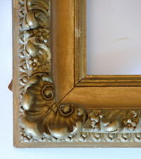"FRAME ORNATE AMERICAN BARBIZON HIGH PROFILE GOLD APPLIED ORNAMENT FITS 8"" x 10"""