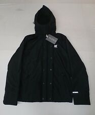 Abercrombie & Fitch Men's All Season Weather Warrior Jacket Black HM7 Medium NWT