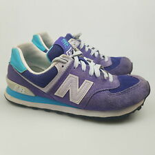 Women's NEW BALANCE '574' Sz 6 US Shoes Purple Blue GCon | 3+ Extra 10% Off