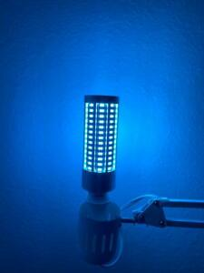60W Blue LED Antibacterial Bulb