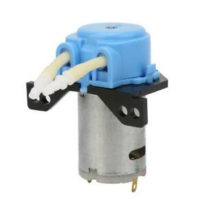 DC6V Micro Selfpriming Mute Peristaltic Liquid Pump For LabDosing Analytical New