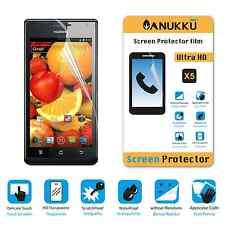 3x PELLICOLA per Huawei Ascend P1 4X FRONTE + PANNO PROTETTIVA DISPLAY