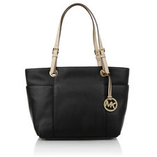 MICHAEL KORS LEDERTASCHE Jet Set ITEM TZ TOTE black/schwarz