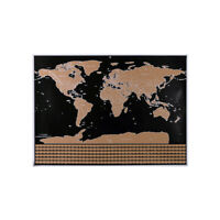 Scratch Off Map Interactive Vacation Poster World Travel Maps Poster G7H2