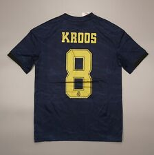 NWOT Kroos #8 Real Madrid 2019 2020 Football Soccer Shirt Adidas Youth Size L