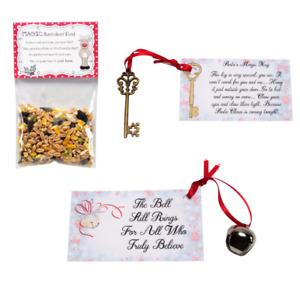 Believe Bell - Magic Reindeer Food - Santa Key - Christmas Eve Box Fillers