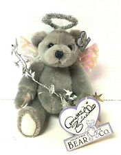 """Vintage Annette Funicello Jointed Bear 6"""" The Angel of Clouds Halo & Wings"""