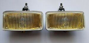 VINTAGE HELLA YELLOW FOG LIGHT