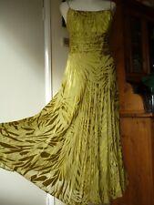 Monsoon,Vintage 70,s style Silk Midi Dress,Wedding,Occasion,Party,Hippy boho.