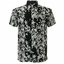 BNWT Edwin Nines Bamboo Linen Shirt Black Medium