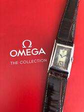 Very Rare OMEGA T17 Art Deco Diver Asimetric All Steel Vintage Swiss Watch
